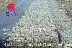 優質防汛石籠網 高爾凡鉛絲籠