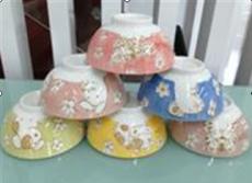 十二生肖陶瓷碗