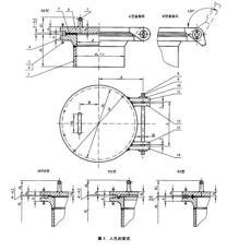HGT21518回轉蓋帶頸對焊法蘭人孔