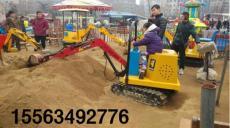 游乐场专供投币型儿童挖掘机