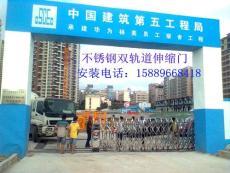 龙华深圳伸缩门多少钱 最便宜自动门价格