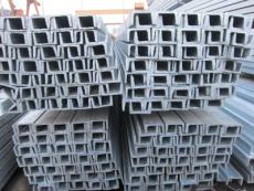 天津现货热镀锌槽钢 国标热浸镀锌槽钢 U型