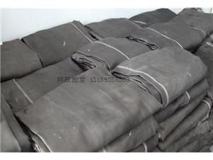 明辉滤袋硅油石墨玻璃纤维机织布除尘布袋
