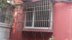 劲松护栏防盗窗安装/劲松不锈钢护栏金刚网