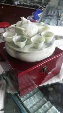 蓝田玉茶具