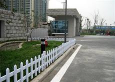 河北PVC草坪护栏 花坛护栏 园林护栏