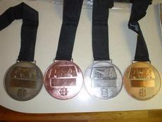 古青铜奖牌 纯银纪念币 真金奖牌 体育奖牌
