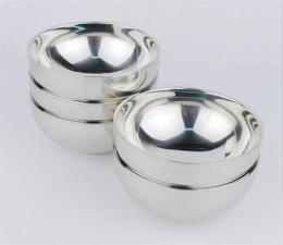 304不锈钢双层碗 不锈钢汤碗