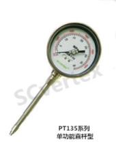 PT135系列不銹鋼指針式高溫熔體壓力顯示表
