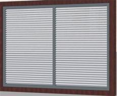 广东百叶窗围墙护栏阳台护栏铁艺门生产厂家