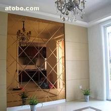 茶镜玻璃拉槽