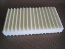 異形加工波浪形海綿