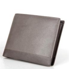 男士錢包定制 真皮錢夾加工 牛皮禮品錢包