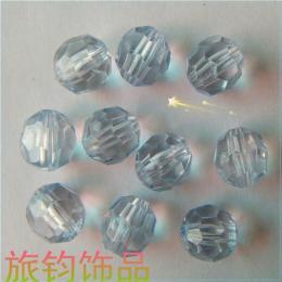 塑料珠子 压克力珠子 电镀珠 荧光珠 珠中珠