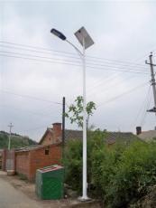内蒙古乡村太阳能路灯