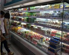 深圳中奧冷柜中奧冷柜超市飲料風幕柜